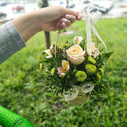 """Цветочная композиция """"Луг"""": букеты цветов на заказ Flowwow"""