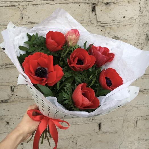 Анемоны 7: букеты цветов на заказ Flowwow