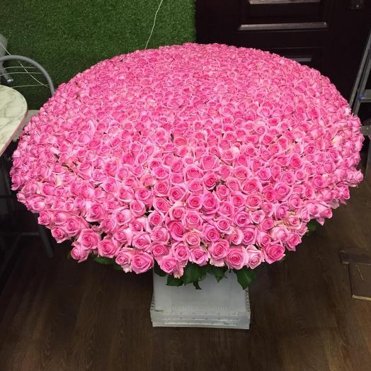 Розы аква 1001 шт: букеты цветов на заказ Flowwow