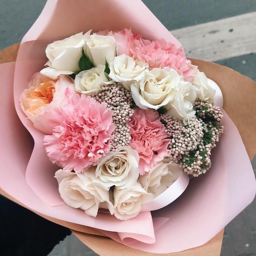 Букетик «Pink»: букеты цветов на заказ Flowwow
