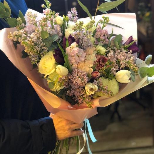 Букет РОСКОШЬ 2: букеты цветов на заказ Flowwow
