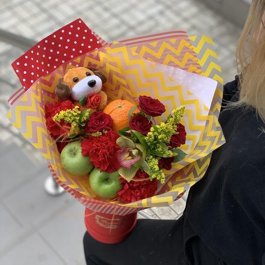 Господин Витамин: букеты цветов на заказ Flowwow