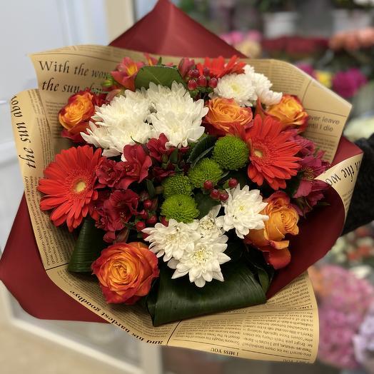 Поздравление: букеты цветов на заказ Flowwow