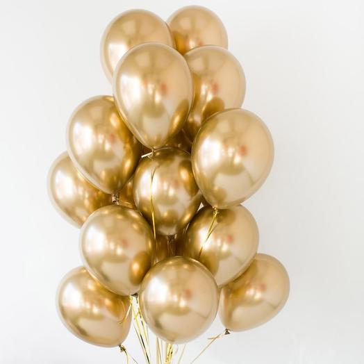 Золотые шары 20