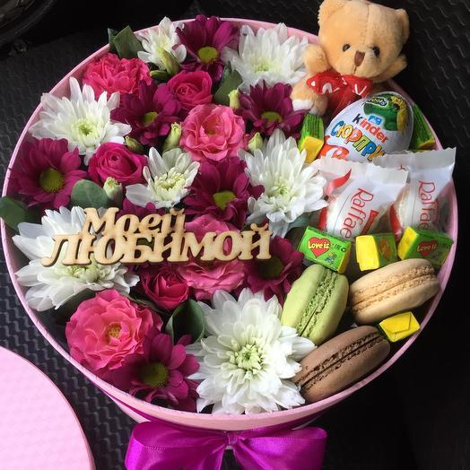 Цветы в коробке 3167