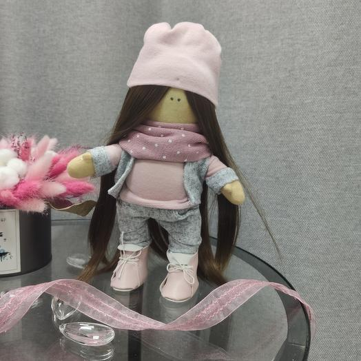 Кукла Ники в шапочке