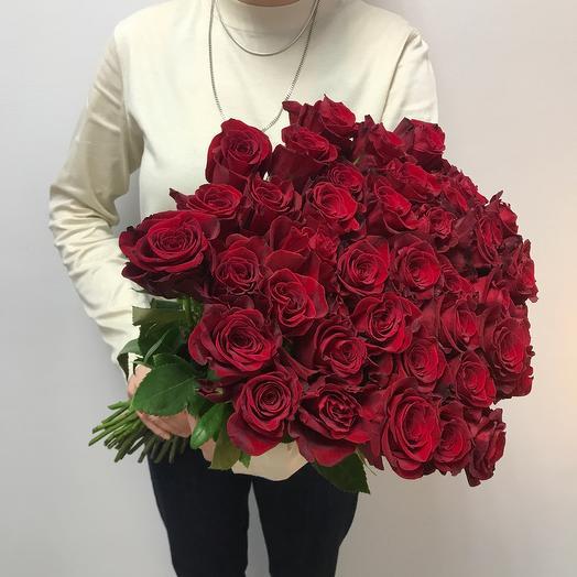 Роза премиум 70 см