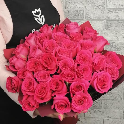 35 VIP Колумбийской розы