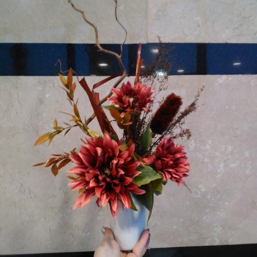 Хризантемы в осени