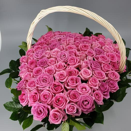 Огромное розовое сердце
