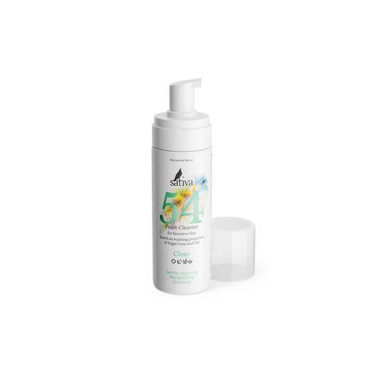 Пенка очищающая для чувствительной кожи 54, Sativa