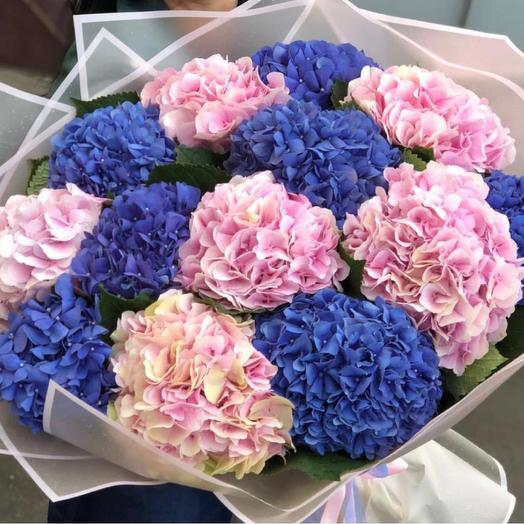 A bouquet of 13 ~ love the MiX of colors