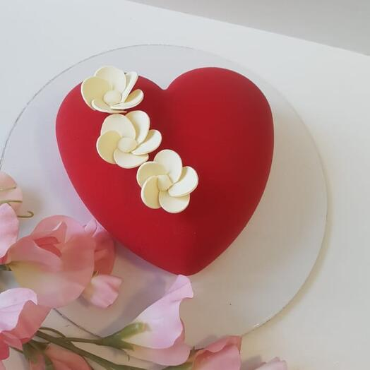 """Муссовый торт """"Мини-сердце"""""""