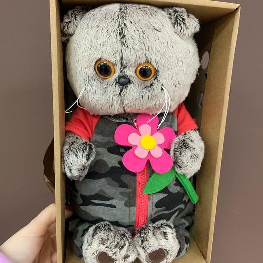 Басик с цветочком