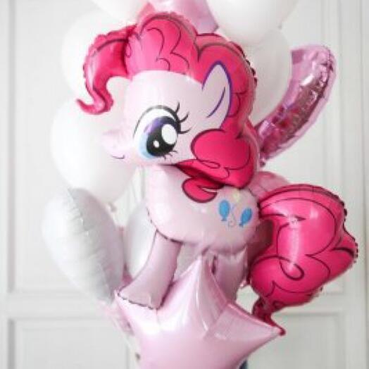 Набор шаров с Пинки Пай