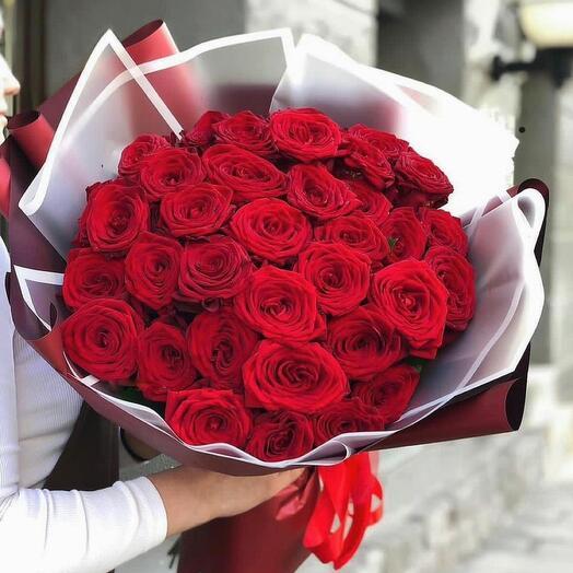 Букет роз « Взрыв чувств»