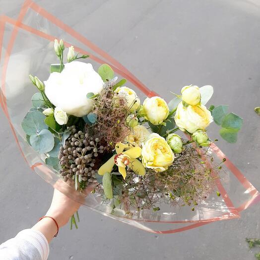 """Букет цветов""""Рассвет"""""""