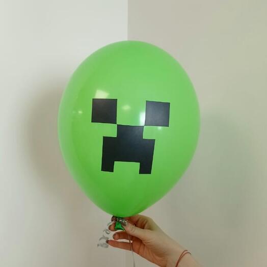 "Воздушный шар ""Пиксели"""