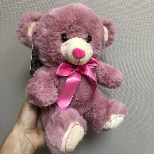 Мишка pink 32см