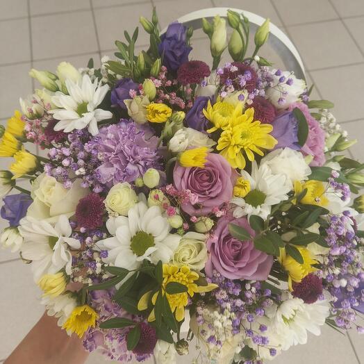 Цветы в коробке 7