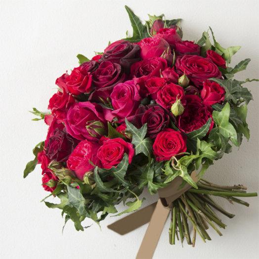 Розали / Rosa ie: букеты цветов на заказ Flowwow