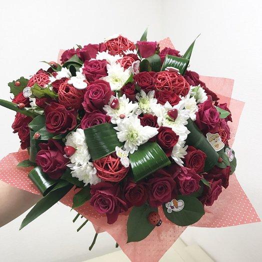 Новая жизнь: букеты цветов на заказ Flowwow