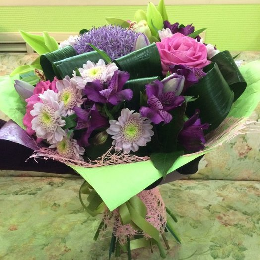 Аллиум: букеты цветов на заказ Flowwow