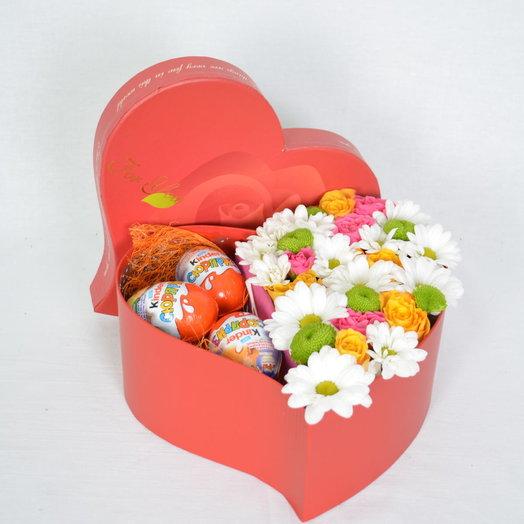 Маленький сюрприз: букеты цветов на заказ Flowwow