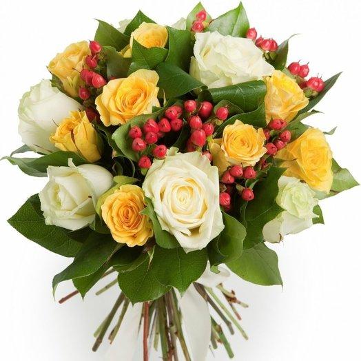 Большой комплимент: букеты цветов на заказ Flowwow