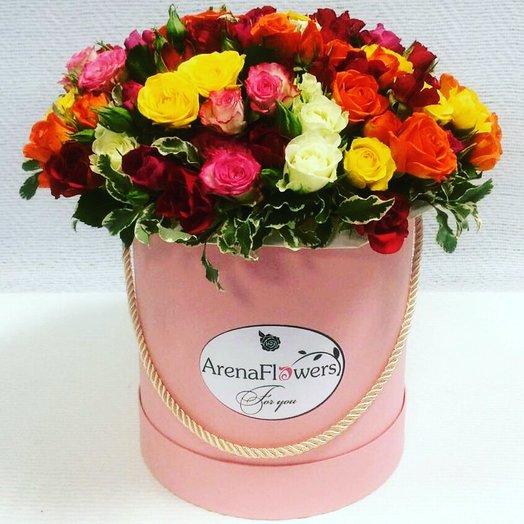Фонтан Эмоций: букеты цветов на заказ Flowwow