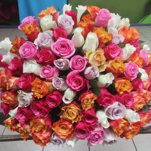Букет 51 роза: букеты цветов на заказ Flowwow