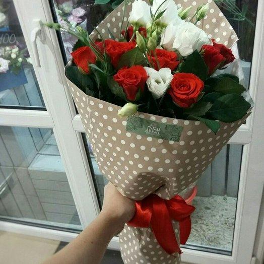 Клубничный сорбет: букеты цветов на заказ Flowwow