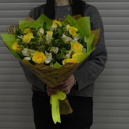 Неукротимая Энергия: букеты цветов на заказ Flowwow