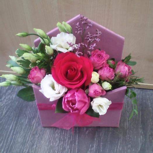 Конверт «Весна»: букеты цветов на заказ Flowwow