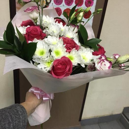 Чудо в руках: букеты цветов на заказ Flowwow