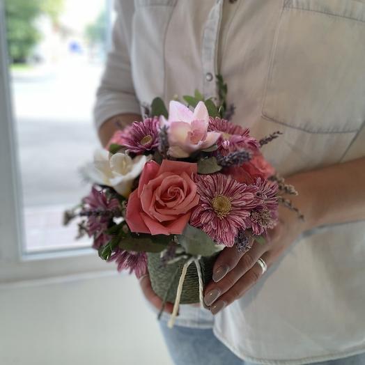 Стильный стаканчик: букеты цветов на заказ Flowwow