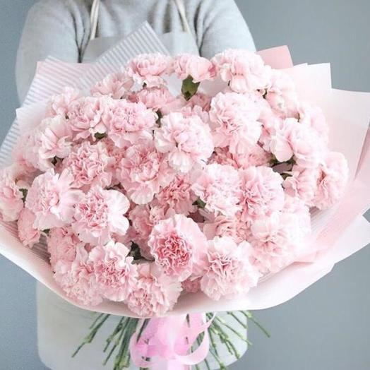 Розовое облачко: букеты цветов на заказ Flowwow