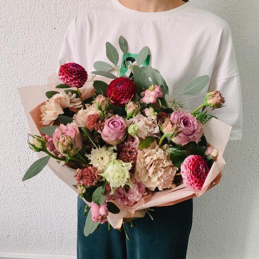 Клубника со сливками: букеты цветов на заказ Flowwow