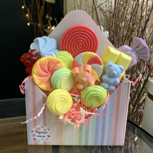 Мыльные сладости: букеты цветов на заказ Flowwow