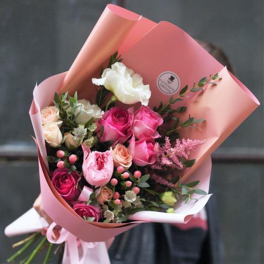 Изящная Изабель: букеты цветов на заказ Flowwow