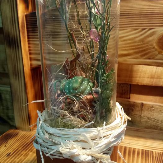 Логово зелёного питона: букеты цветов на заказ Flowwow