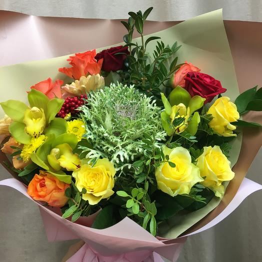 Лайм с перчинкой: букеты цветов на заказ Flowwow