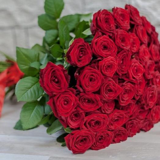 51 роза 60 см: букеты цветов на заказ Flowwow