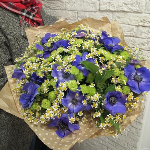 """Чудесный букет """"Романтик"""": букеты цветов на заказ Flowwow"""