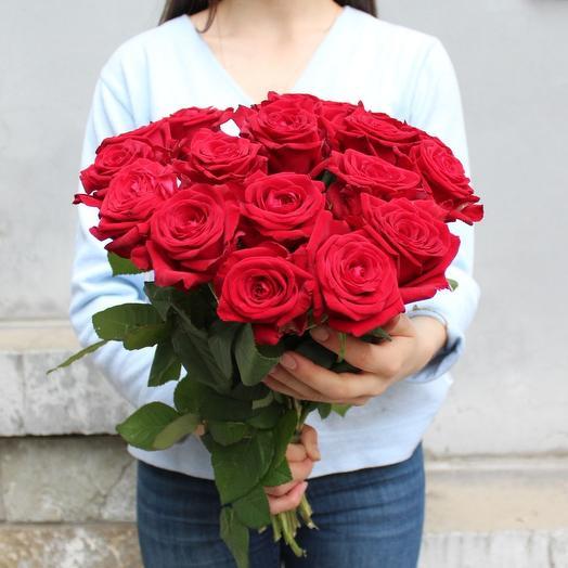 15 Ред Наоми: букеты цветов на заказ Flowwow