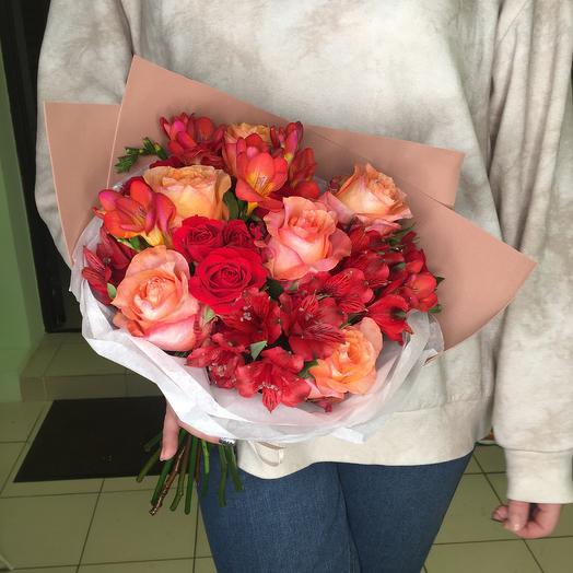 Букет 2771: букеты цветов на заказ Flowwow
