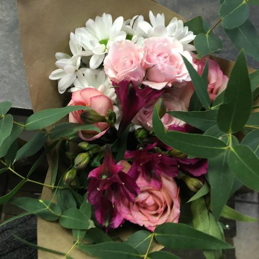Кулёк: букеты цветов на заказ Flowwow