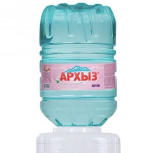 Вода Архыз 19 литров ПЭТ (Бутылка одноразовая)