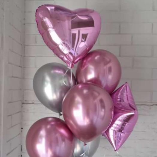 Розовый фонтан к любому празднику: букеты цветов на заказ Flowwow