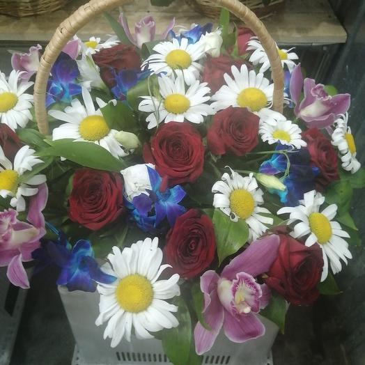 Корзина 1: букеты цветов на заказ Flowwow